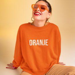 Koningsdag WK EK Trui Oranje