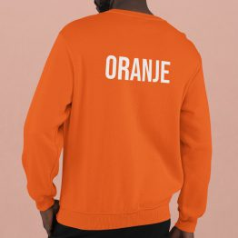 Koningsdag WK EK Trui Oranje Back