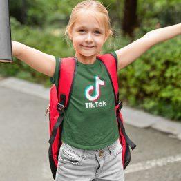 TikTok T-Shirt Groen