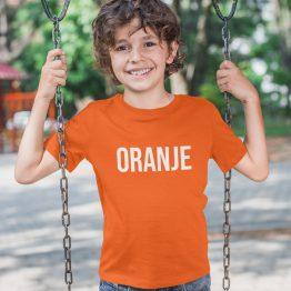 WK EK & Koningsdag T-shirt Kind Oranje
