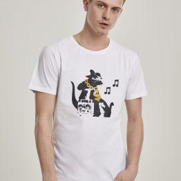 Banksy T-Shirt Graffiti HipHop Rat