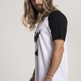Banksy T-Shirt Graffiti Panda Raglan Links