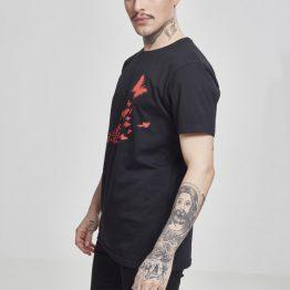 Banksy T-Shirt Graffiti Butterfly Links