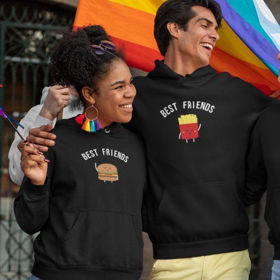 BFF Hoodies Hamburger & Friet