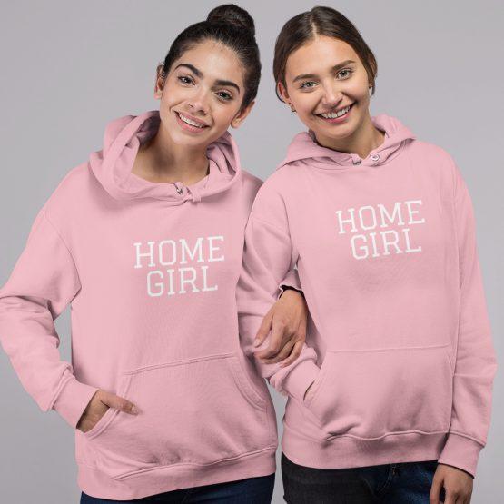 BFF Hoodies Homegirl Roze