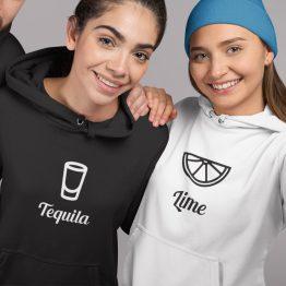 BFF Hoodies Tequila & Lime sfeerfoto