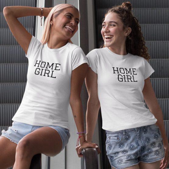 BFF T-shirts Homegirl Wit