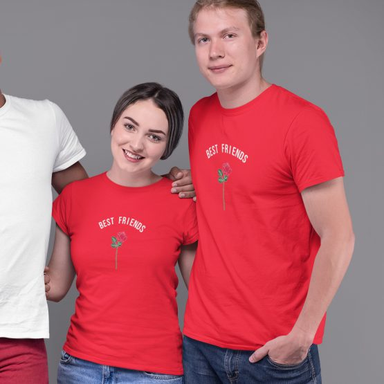 BFF T-shirts Roos Rood