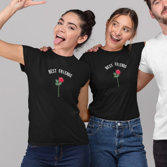 BFF T-shirts Roos Zwart