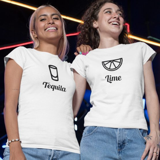 BFF t-shirts Tequila & Lime